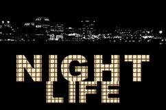 νύχτα ζωής Στοκ Φωτογραφία