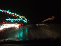 νύχτα θαμπάδων Στοκ εικόνα με δικαίωμα ελεύθερης χρήσης