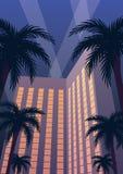Νύχτα θερέτρου χαρτοπαικτικών λεσχών ξενοδοχείων Στοκ Εικόνα