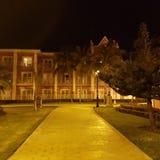 Νύχτα ιδιοκτησίας ξενοδοχείων της Τζαμάικας κόλπων montego του Roy στοκ εικόνες