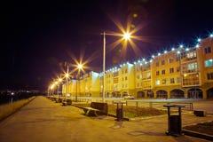 Νύχτα Ιρκούτσκ στοκ εικόνες
