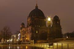 νύχτα καθεδρικών ναών του &Beta Στοκ Εικόνες