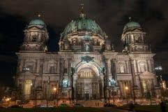 νύχτα καθεδρικών ναών του &Beta Στοκ Φωτογραφία