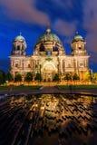 νύχτα καθεδρικών ναών του &Beta Στοκ εικόνα με δικαίωμα ελεύθερης χρήσης