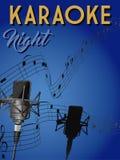Νύχτα καραόκε Στοκ Εικόνα