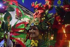 Νύχτα καρναβάλι 2017 του Σεμαράνγκ Στοκ Εικόνες