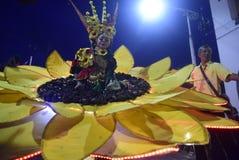 Νύχτα καρναβάλι 2017 του Σεμαράνγκ Στοκ εικόνα με δικαίωμα ελεύθερης χρήσης