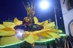 Νύχτα καρναβάλι 2017 του Σεμαράνγκ Στοκ Φωτογραφίες