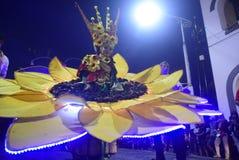 Νύχτα καρναβάλι 2017 του Σεμαράνγκ Στοκ Εικόνα