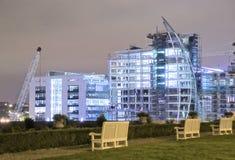 νύχτα κατασκευής Στοκ εικόνα με δικαίωμα ελεύθερης χρήσης