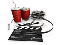 νύχτα κινηματογράφων Στοκ φωτογραφίες με δικαίωμα ελεύθερης χρήσης