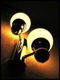 νύχτα λαμπτήρων Στοκ φωτογραφίες με δικαίωμα ελεύθερης χρήσης