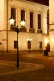 νύχτα λαμπτήρων Στοκ εικόνα με δικαίωμα ελεύθερης χρήσης