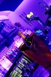 νύχτα λεσχών ράβδων Στοκ εικόνα με δικαίωμα ελεύθερης χρήσης