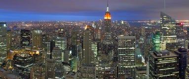 Νύχτα Νέα Υόρκη στοκ εικόνα