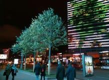 Νύχτα νέο Arbat Στοκ φωτογραφία με δικαίωμα ελεύθερης χρήσης