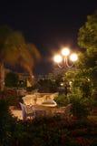 νύχτα ξενοδοχείων καφέδων Στοκ Φωτογραφία