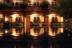 νύχτα ξενοδοχείων Στοκ Εικόνες
