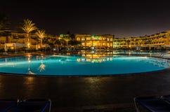 νύχτα ξενοδοχείων της Αι&gamma Στοκ Φωτογραφίες