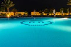 νύχτα ξενοδοχείων της Αι&gamma Στοκ εικόνες με δικαίωμα ελεύθερης χρήσης