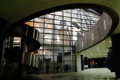 νύχτα οικοδόμησης Στοκ Φωτογραφία