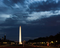 νύχτα Ουάσιγκτον μνημείων Στοκ φωτογραφία με δικαίωμα ελεύθερης χρήσης