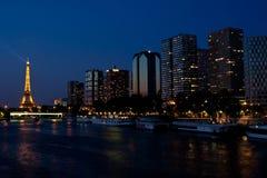 νύχτα Παρίσι Στοκ φωτογραφία με δικαίωμα ελεύθερης χρήσης