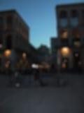 Νύχτα που θολώνεται Στοκ εικόνα με δικαίωμα ελεύθερης χρήσης
