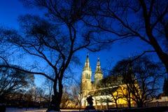 νύχτα Πράγα Στοκ εικόνες με δικαίωμα ελεύθερης χρήσης