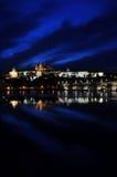 νύχτα Πράγα s Στοκ φωτογραφία με δικαίωμα ελεύθερης χρήσης