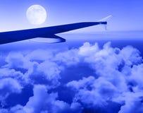 νύχτα πτήσης στοκ φωτογραφία με δικαίωμα ελεύθερης χρήσης