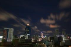 νύχτα πόλεων αγγέλων στοκ εικόνες με δικαίωμα ελεύθερης χρήσης