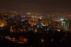 νύχτα πόλεων αστική Στοκ Φωτογραφίες
