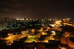 νύχτα πόλεων στοκ εικόνες με δικαίωμα ελεύθερης χρήσης