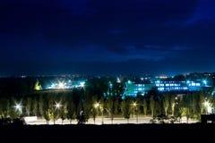 νύχτα πόλεων Στοκ Εικόνα