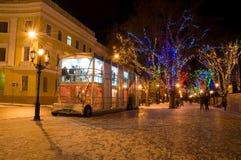 νύχτα πόλεων Στοκ φωτογραφία με δικαίωμα ελεύθερης χρήσης