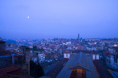 Νύχτα Πόρτο Πορτογαλία Στοκ Εικόνες