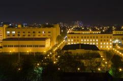 00015-νύχτα πόλη Krasnodar Στοκ φωτογραφία με δικαίωμα ελεύθερης χρήσης