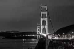 νύχτα Σαν Φρανσίσκο στοκ φωτογραφία