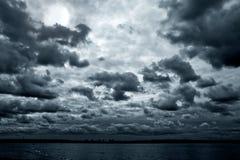 νύχτα σεληνόφωτου Στοκ Εικόνες