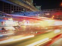 1 νύχτα στη Μπανγκόκ Στοκ Εικόνες