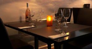 Νύχτα στον καφέ Στοκ φωτογραφία με δικαίωμα ελεύθερης χρήσης