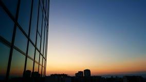 Νύχτα στο γραφείο στοκ φωτογραφίες με δικαίωμα ελεύθερης χρήσης