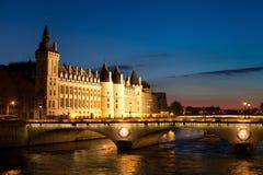 Νύχτα στο Παρίσι Στοκ Φωτογραφία