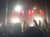 Νύχτα συναυλίας στοκ φωτογραφία με δικαίωμα ελεύθερης χρήσης