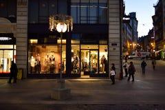 νύχτα της Γενεύης Στοκ εικόνες με δικαίωμα ελεύθερης χρήσης