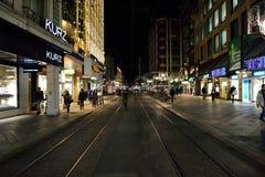 νύχτα της Γενεύης Στοκ φωτογραφία με δικαίωμα ελεύθερης χρήσης