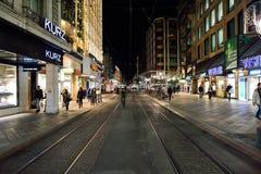 νύχτα της Γενεύης Στοκ Εικόνα