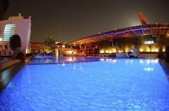 νύχτα της Κωνσταντινούπολ& Στοκ φωτογραφία με δικαίωμα ελεύθερης χρήσης