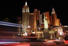 Νύχτα της Νέας Υόρκης στοκ εικόνες με δικαίωμα ελεύθερης χρήσης